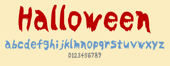 Top 23 Scary Fonts and Dingbats for Halloween Designs