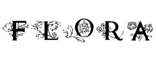 Flora1 font