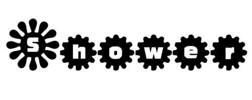 Shower Flower font