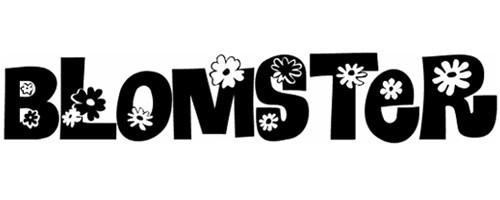 blomster font