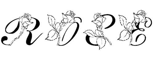 LMS Rose font