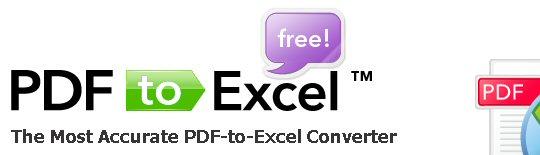 PDF to Excel - 100% Free