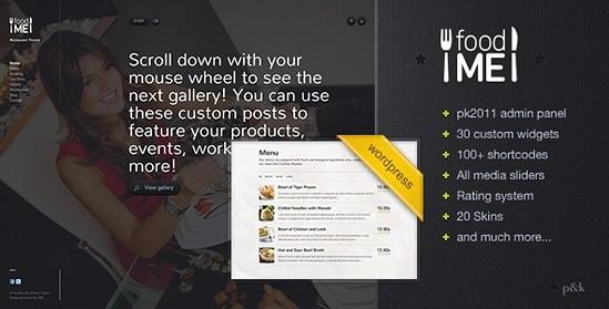 WordPress FoodMe Restaurant Business Theme
