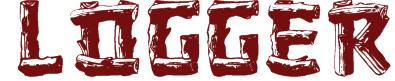 Logger Texture Font