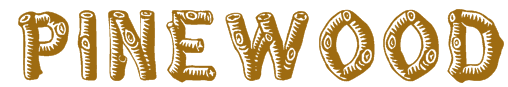 Pinewood Texture Font