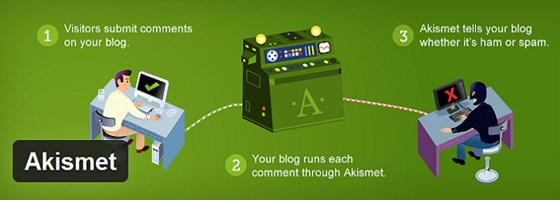 Install An Anti Spam Plugin Akismet WP Plugin