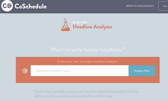 Create Powerful and Catchy Headlines