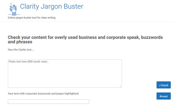 Clarity Jargon Buster