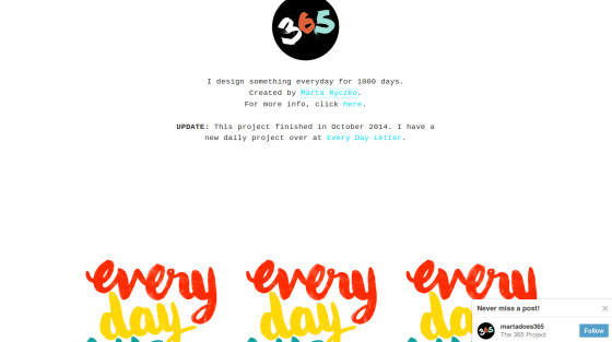 Design Something Daily
