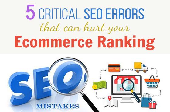 5 Common Product Description Errors Hurting eCommerce SEO
