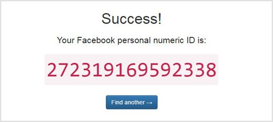 Facebook Profile ID
