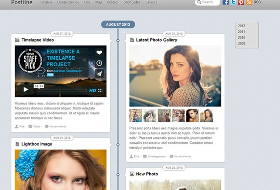 Postline WordPress Theme