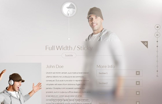 Share It Timeline Wordpress Theme