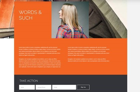 The Modern HTML Website Template
