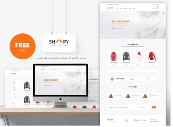 E-Commerce Shopping Website