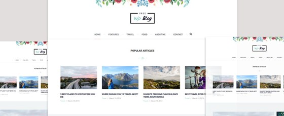 palmas free wordpress theme