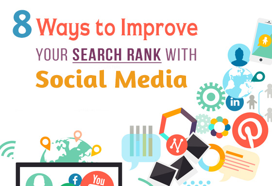 8 Ways to Improve Your Search Rank with Social Media