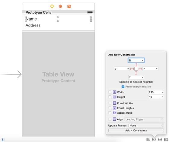ios8 table design