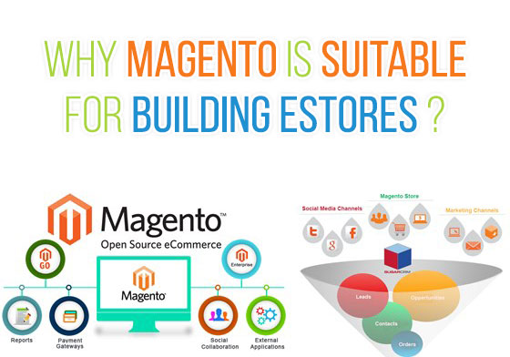 Why Magento is suitable for building eStores?