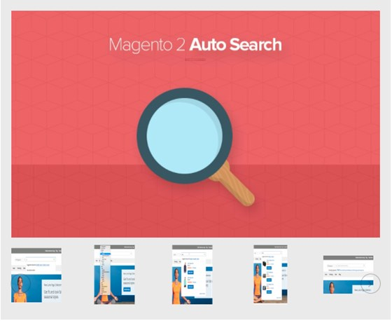 Magento 2 Search Autocomplete