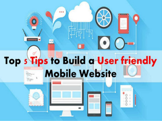 5 tips for designing a mobile friendly website