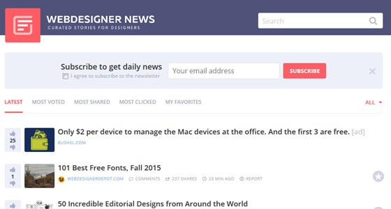 25 Top Websites To Submit Web Design Articles And News