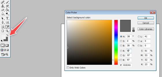 choose colors - photoshop tutorial