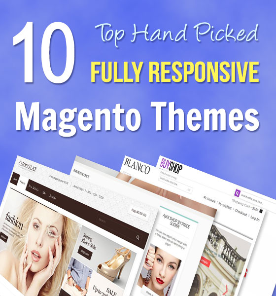 10 Best Hand Picked Fully Responsive Magento Themes