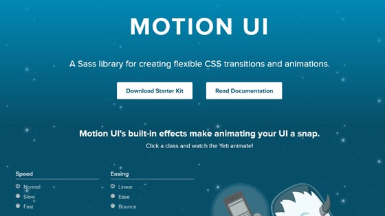 Motion UI or Motion User Interface