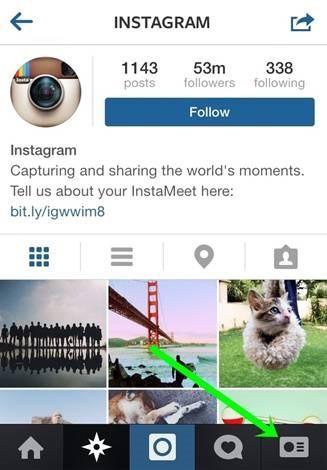Instagramprofile