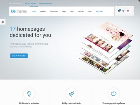 be-theme wordpress theme