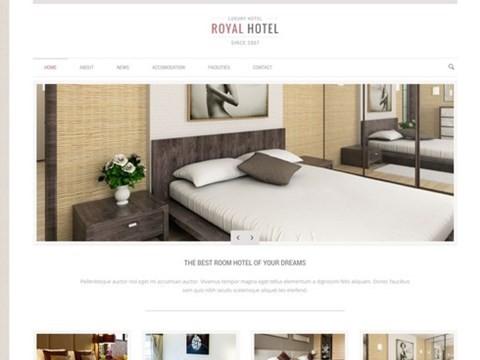 royal hotel and resort theme