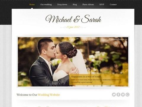 marriage responsive theme