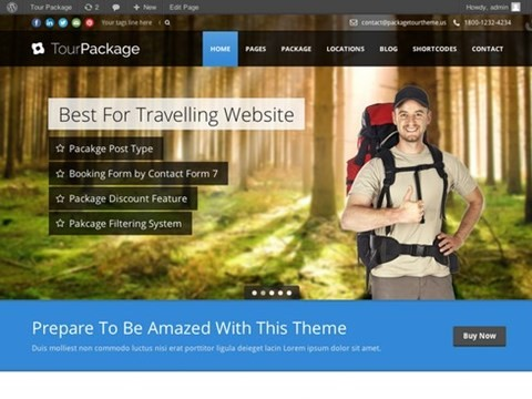 tour package travel theme