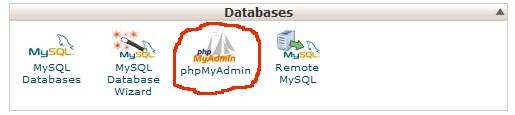 Backup Using phpMyAdmin
