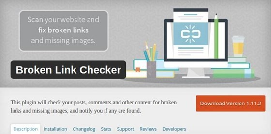 Broken Link Checker - WordPress Plugin
