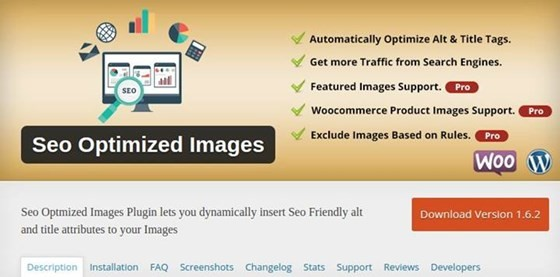 SEO Optimized Images - WordPress Plugin