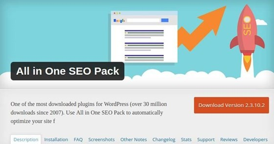 All in One SEO Pack - WordPress Plugin