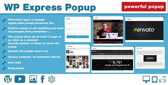 WP Express Popup