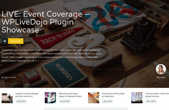Wagazine Magazine & Reviews Responsive WordPress Theme