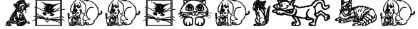 CattArt Font