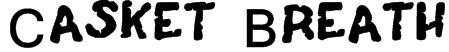 Casket Breath Font