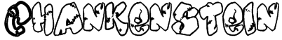 Chankenstein Font