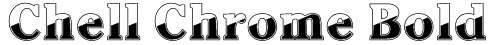 Chell Chrome Bold Font
