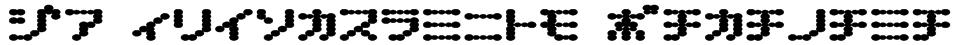 D3 Electronism Katakana Font