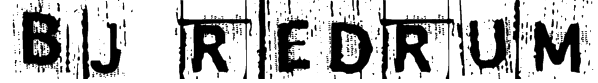 BJ REDRUM Font