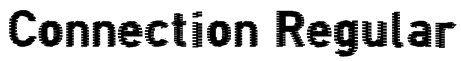 Connection Regular Font