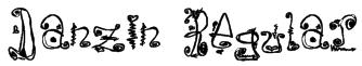 Danzin Regular Font