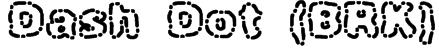 Dash Dot (BRK) Font