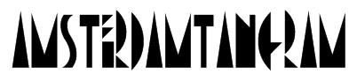 AmsterdamTangram Font